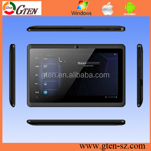 "Very cheap 7"" A23 dual core 512MB 4GB Q8 wifi tablet pc android 4.1 free game"
