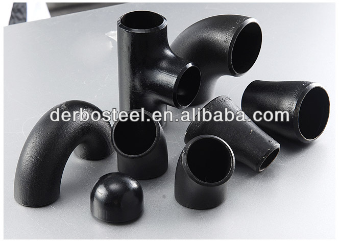 Press fitting for replacing carbon steel pipe fittings elbow tee reducer flange