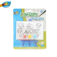 oil painting on canvas kids canvas painting set