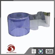 Reduces fumes and noise levels high gloss pvc film plastic sheet pvc rigid film 0.5mm thick clear roll