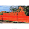 virgin HDPE plastic orange fence net road warning netting