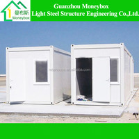 10ft prefabricated morden portable tiny container houses