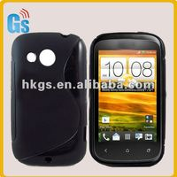 for HTC Desire C Wave Style Tpu Gel Case Cover