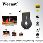 Preço mais barato online streaming WiFi Wecast C2 Miracast Dongle Receptor de Exibição, EZCast Airplay Media Player, Dongle Receptor de TV