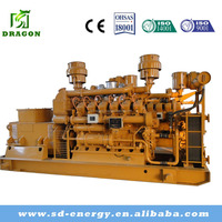Low Fuel Consumption Gas Engine 500kw Natural Gas Generator