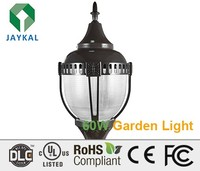 China high lumens 5 years warranty UL/DLC post top garden led light outdoor