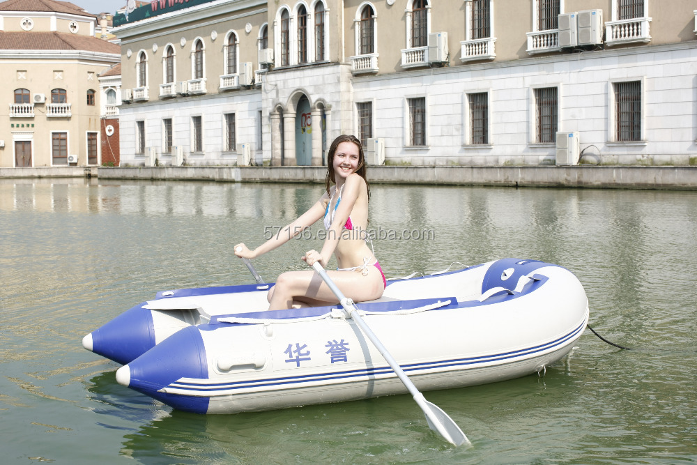 low price high quality 0.9 mini inflatable fishing boat