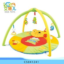 Good quality Funny plush children toy baby carpet play mat