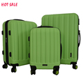 ABS beautiful luggage trolley school bags luggage carry on set