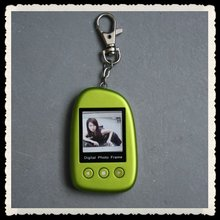 keychain digital photo frame can play photos