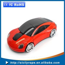 Car shape wireless cordless optical mouse