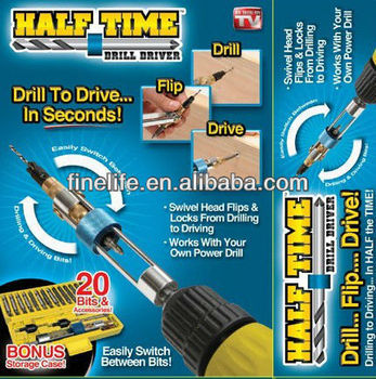2017 year hot selling product Half time drill driver