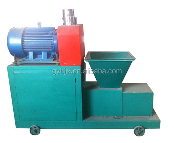 rice husk briquette charcoal extruder machine for making bbq charcoal rods