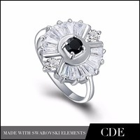 CDE Jewelry Wholesale silicone wedding ring girls ring