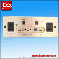 Hotel Audio Visual System/ Hotel Socket All In One with HDMI/ Media Control Panel