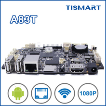 2016 new product TISMART DS831 octa core arm board for digital advertising with wifi plastic case