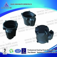 Machined cast iron motor housing for sewage pump industry
