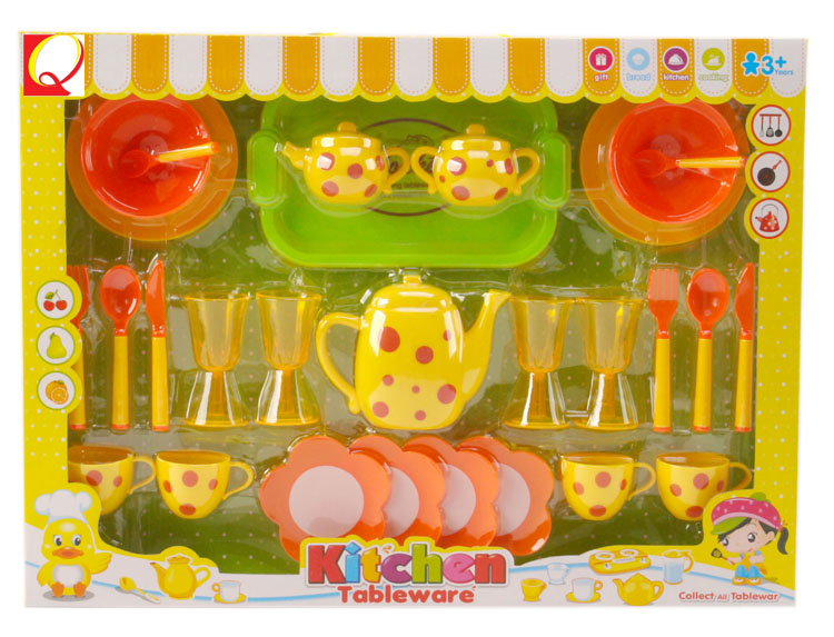 Novelty plastic toy cooking game girls for kids