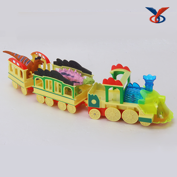 8 styles electric dinosaur train toys for sale