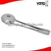 stainless steel Handy Strainer Tongs