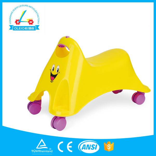 Fashion plastic portable cheap real car for kids
