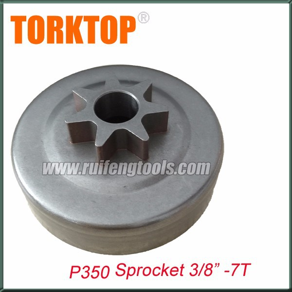 Chain saw spare parts P350 sprocket 3/8-7T