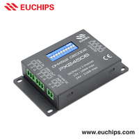 factory price DIP switch 3A 3 channel dmx512 rgb 12v constant voltage led driver