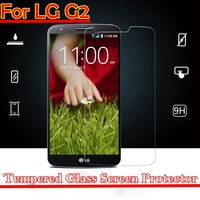 0.3mm Thickness Mobile phone / Cell phone tempered glass screen protector for LG G2 OEM/ODM