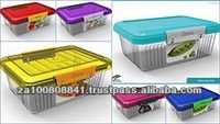 Plastic snack lunchbox
