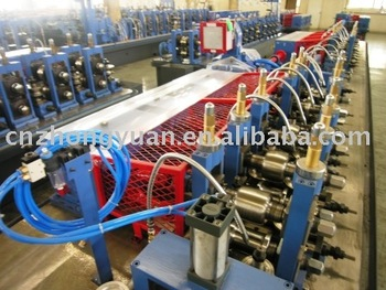 Ratio-frequency welded tube mill