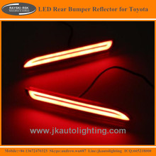 High Quality LED Rear Bumper Reflector for Toyota Alphard Hot Selling LED Rear Bumper Lights for Toyota Alphard 2015-2016