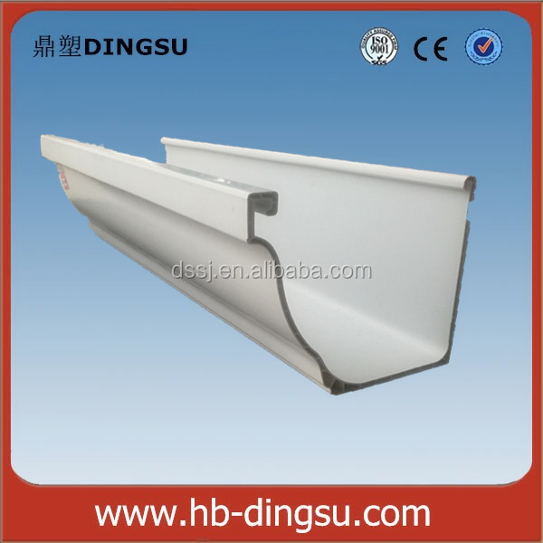FACTORY DIRECT - Qualified UPVC Rain Gutter Accessories outside elbow inside elbow