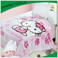soft micro fleece baby blanket for Russian market