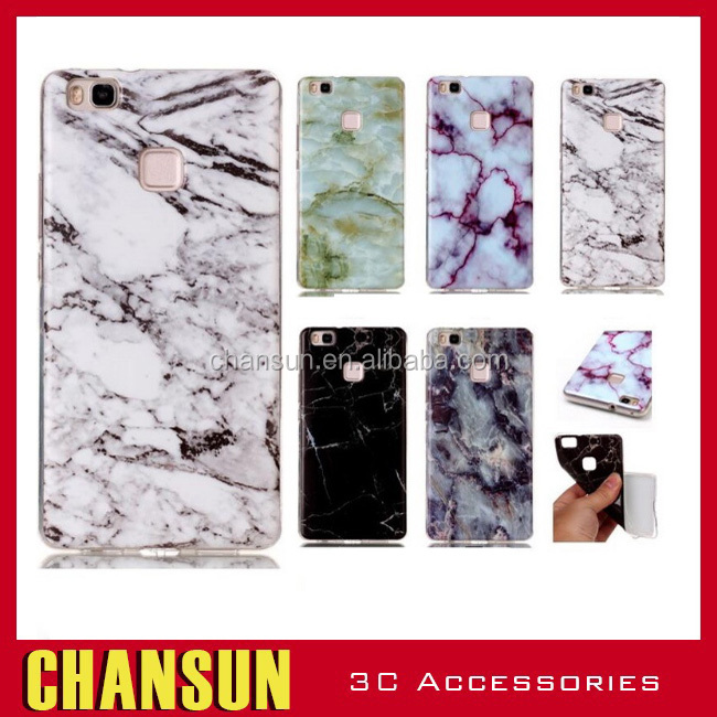 New arrival! Marble pattern Phone Case for Huawei p9 lite,TPU soft case for huawei p9 lite Back Cover