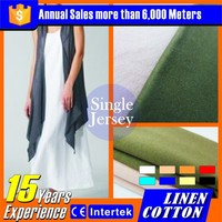 2015 Pop fashion Cotton linen knitted fabric spanish clothing brands