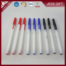 Promotional White Thin Hotel Plastic Ball Point Pen for School&Hotel
