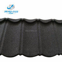 JINHU roofing shingles factory/stone coated color steel roofing tiles
