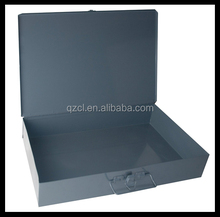Gray Cold Rolled Steel box Individual Large Empty Metal Shell