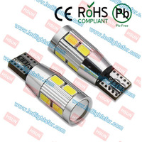 High quality smd 5630 led chip 5W HP car led lamp canbus with lens