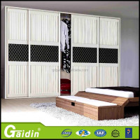 Hidden frame door roller parts for wardrobe guide rail pvc sensor sliding door