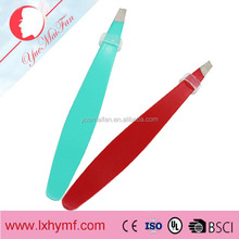 Professional High Quality Stainless Steel Good Eyebrow Tweezers