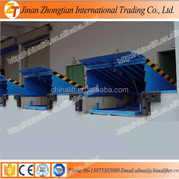 Electric hydraulic fixed dock leveler truck unloading equipment no rust price