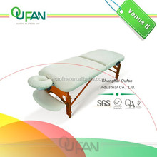 White Multi Position Used Massage Bed Adjustable Massage Tables