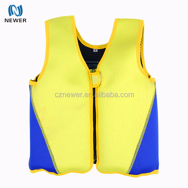 Fashional quality-assured soft kid neoprene swimming life jackets