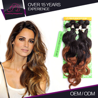 Good Touch Feeling Different Color Human Remy Hair Extension