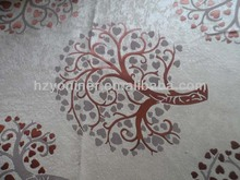 3 Pass 100% Polyester Jacquard Blackout Curtain Fabric/Polyester Jacquard Woven Fabric