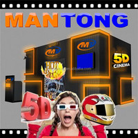 5D 7D 9D XD Cinema Simulator cabin house, 5d theater cabinet with soundproof material