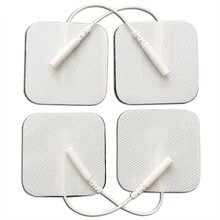 snap rectangular electrode pads for tens/ muscle stimulate