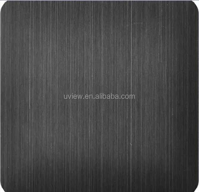 4x8 PVD titanium black colored coated <strong>stainless</strong> steel sheet metal prices