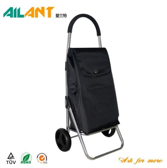2016 Newest waterproof fabric foldable shopping trolley / Accept customized requirement